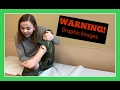 KATIE SEES HER FOOT AFTER SURGERY | *warning* GRAPHIC IMAGES | Flippin' Katie