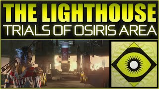 Destiny - The Lighthouse (Mercury) Trials Of Osiris - Flawless Victory - House of Wolves Social Area