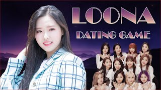 LOONA Dating Game K-POP