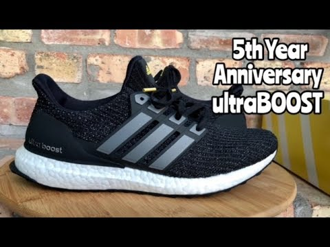 "b9951f9f488 adidas Ultra BOOST 4.0 ""5th Year Anniversary"" review - YouTube"
