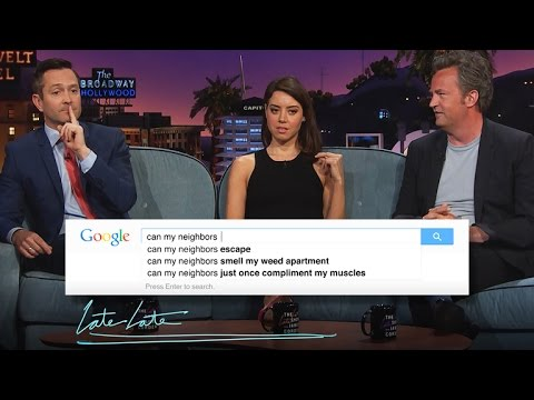 Guess Google with Thomas Lennon, Aubrey Plaza & Matthew Perry - Part 1