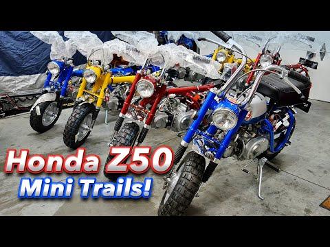 1969 / 1970 Honda Z50 Mini Trail bikes!