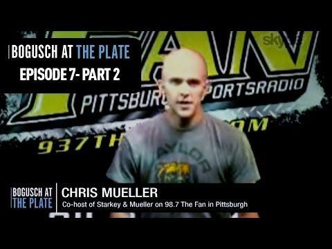 Pittsburgh Baseball Talk - Bogusch at the Plate (May 19, 2016 - Pt. 2)