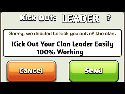 How To Kick Out Clan Leader in Clash Of Clans | Easy Steps Explained |