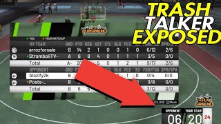 EXPOSING TRASH TALKER😱 DID I SELL?😱 NBA2K19 *MUST WATCH*