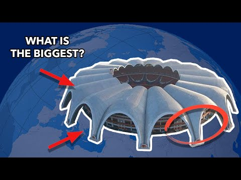 THE LARGEST STADIUMS In The WORLD By Country