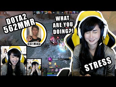 DOTA2 562MMR SUPPORT STRESS is REAL (ft. Cer.Mike & KuyaNic WomboXCombo)