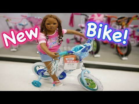 Thumbnail: Silicone Baby Big Sister BIKE in Toys R Us HUGE Toy Store - Fake Play Shopping + Reborn Kid Malia!