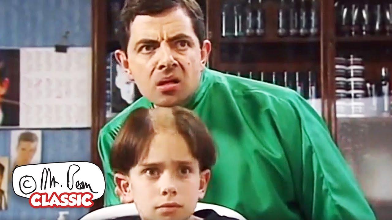 Nice Haircut, BEAN! | Mr Bean Funny Clips | Classic Mr Bean