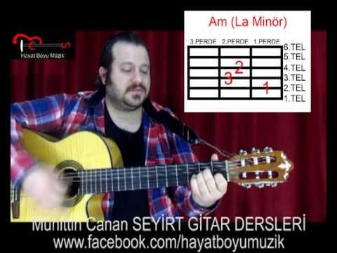 Gitar Dersi 5 (Ritim Akor) Saydım