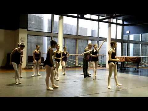Marc Spielberger Teaching Sample Advanced Ballet