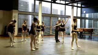 Marc Spielberger Teaching Sample Advanced Ballet