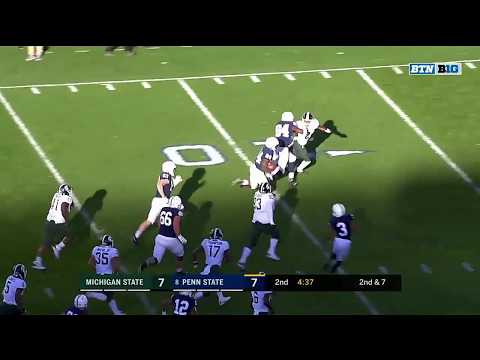 Top 3 Plays of the Second Quarter | Michigan State vs. Penn State | Big Ten Football
