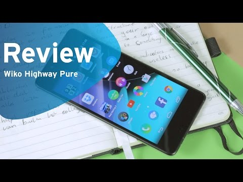 Wiko Highway Pure review (Dutch)