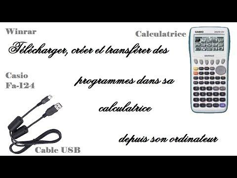 CASIO USB LOGICIEL TÉLÉCHARGER FA-124