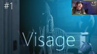 100% Psycological Horror - VISAGE #1 - Gameplay