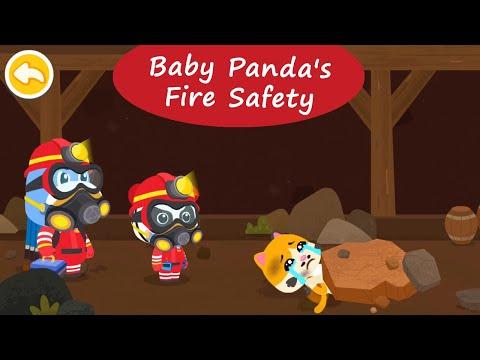 Baby Panda's Fire