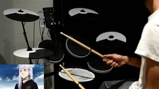 Black Clover OP 7 -【JUSTadICE】by Seiko Oomori - Drum Cover