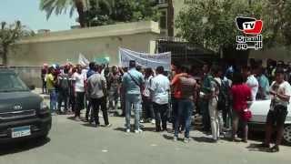 وقفة احتجاجية لطلاب «الثانوية» أمام وزارة التربية و التعليم