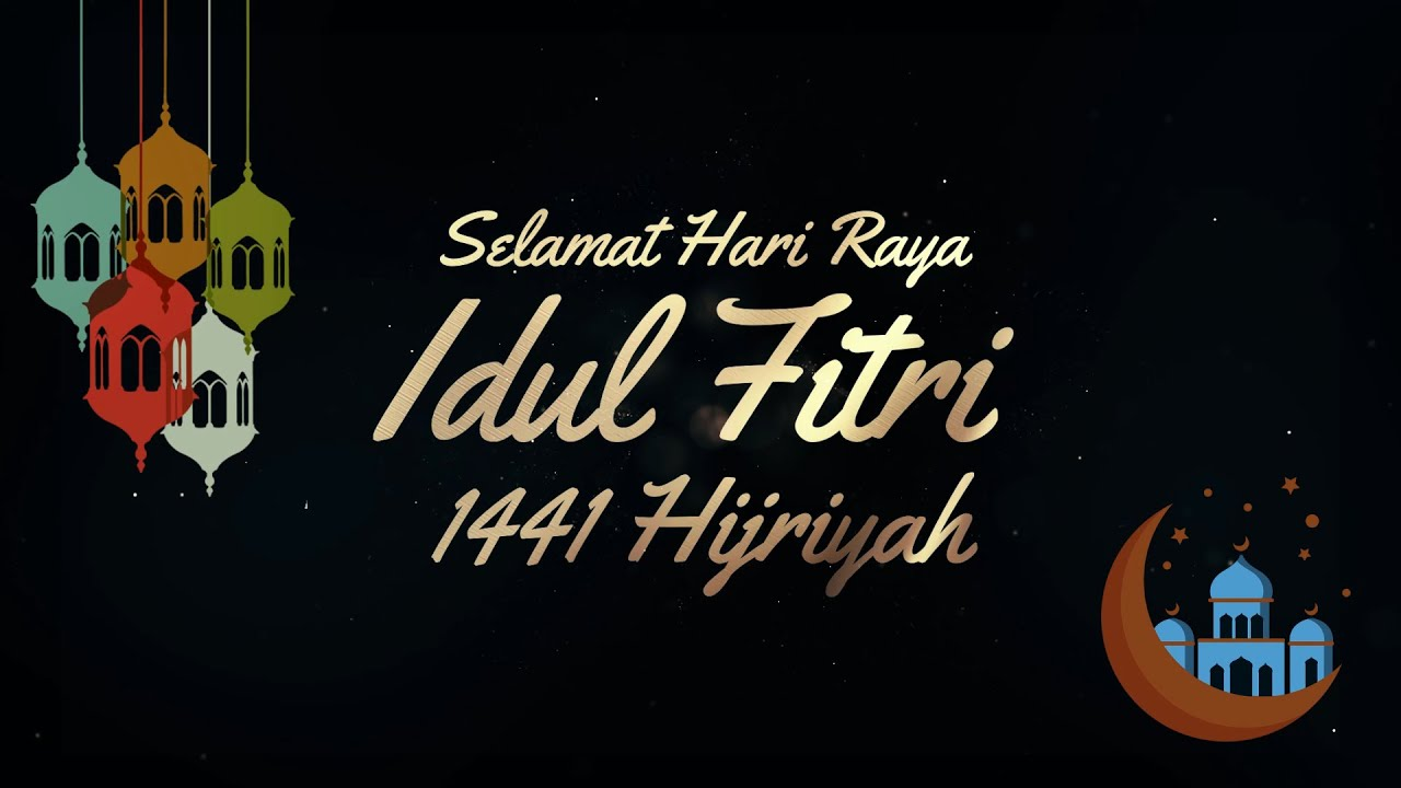 Template Idul Fitri 2020 Free Download Youtube