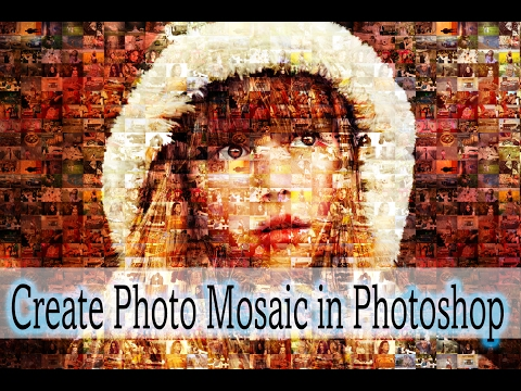 How to make a mosaic in photoshop