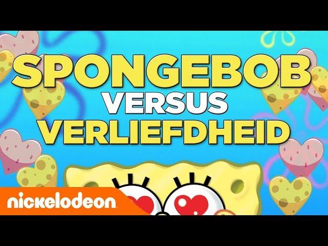 SpongeBob SquarePants | SpongeBob versus de liefde | Nickelodeon Nederlands