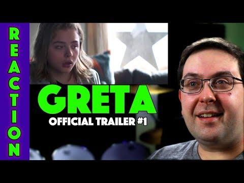REACTION! Greta Trailer #1 - Chloë Grace Moretz Movie 2019
