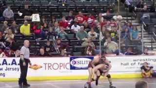 Zack Chakonis Junior H.S. Wrestling Highlight