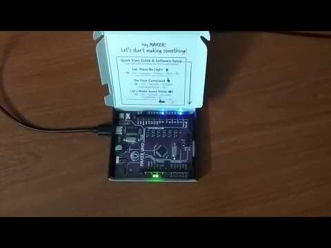 MAKER UNO Project - Christmas Song with onboard Buzzer