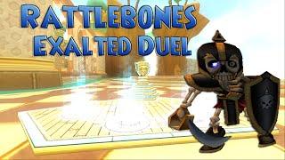 Rattlebones Exalted Duel - [Wizard101 Test Realm 6-25-15]