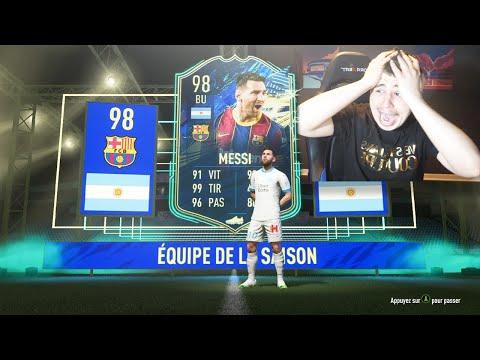 JE PACK MESSI TOTS 98 SUR FIFA 21 !!!