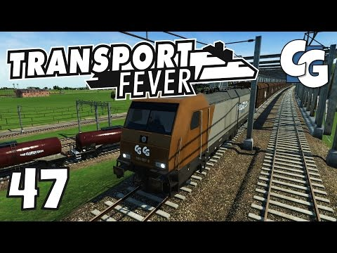 Transport Fever - Ep. 47 - Improved Hastings Goods Line - Tr