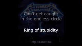 Metallica - Escape Lyrics HD
