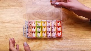 ASMR | Organizing Vitamins