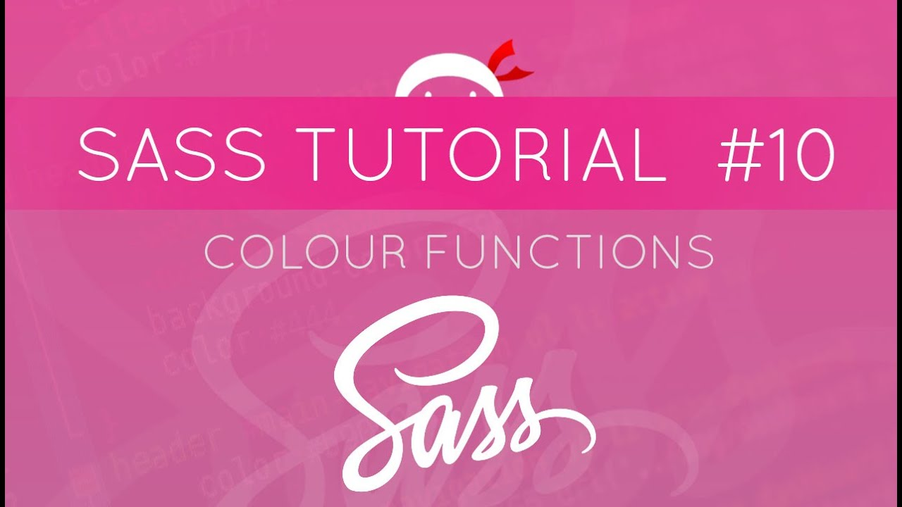 Sass Functions Color Manipulation