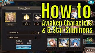 Tales of Erin: How to Awaken Characters&5 Star Team