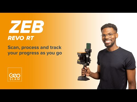 GeoSLAM ZEB-REVO | Handheld mapping and real-time data processing