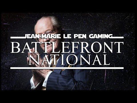 JEAN-MARIE LE PEN GAMING #13 BATTLEFRONT NATIONAL