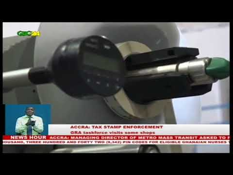 Accra: GRA task force visits some companies and shop