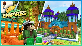 The House of Knowledge!  Empires SMP  Ep.8 (1.17 Survival)