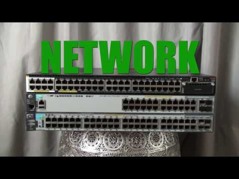 ArubaOS Switches   Let's Build a Network Management VLAN and Cabling - 2