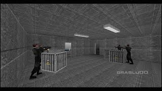 GoldenEye 007 N64 - Escape - 00 Agent (Custom level)