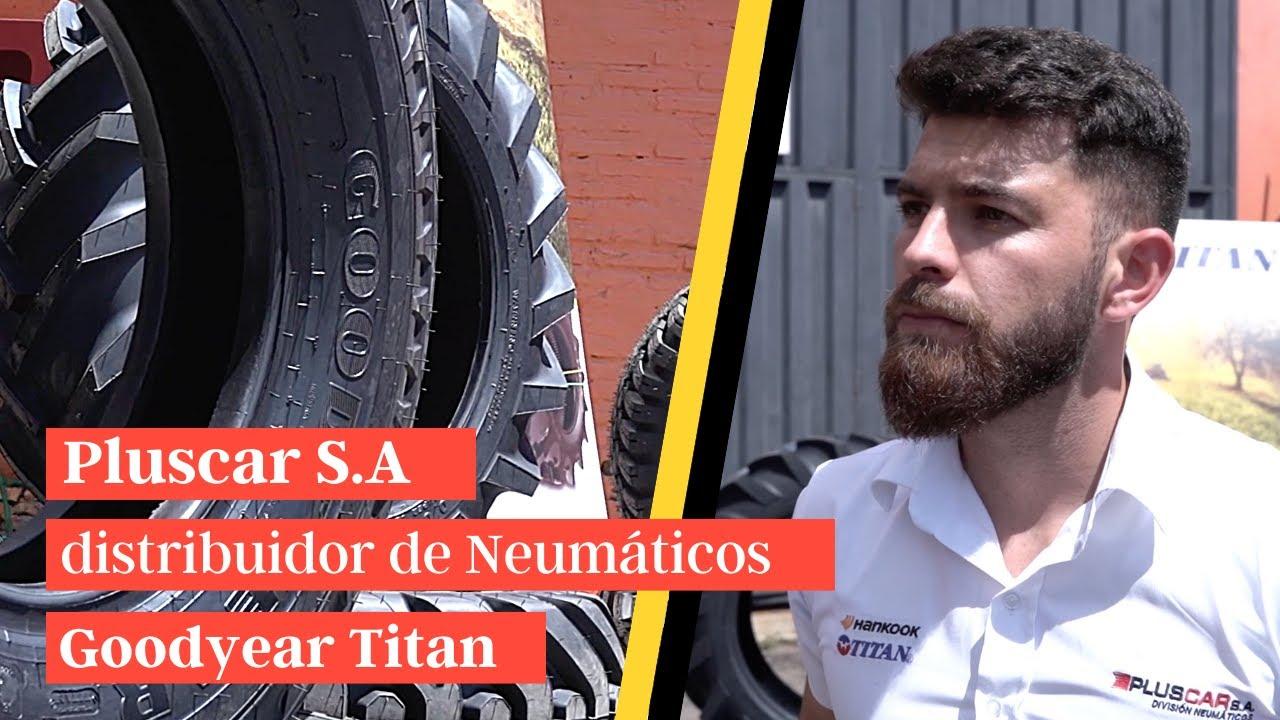 Pluscar S.A es distribuidor de Neumáticos Goodyear Titan