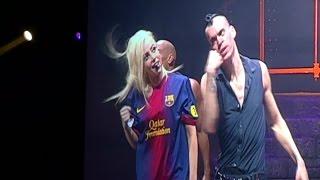 Lady Gaga del Barça en Barcelona