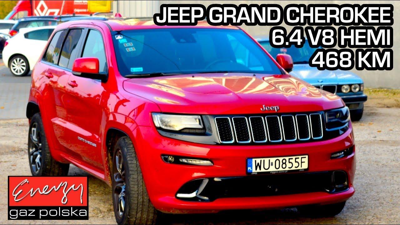 Montaż LPG Jeep Grand Cherokee SRT8 z 6.4 V8 486KM 2016r w Energy Gaz Polska na gaz BRC Sequent P&D