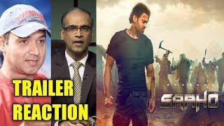 Saaho Trailer Review Reaction By Filmi Critic || Prabhas || Shraddha Kapoor || Jackie Shroff