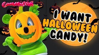 I Want HALLOWEEN Candy GUMMY BEAR SONG Halloween Song by Gummibär
