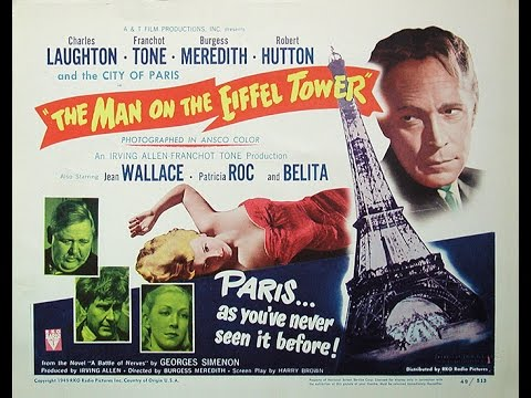 The Man on the Eiffel Tower (1949) Burgess Meredith