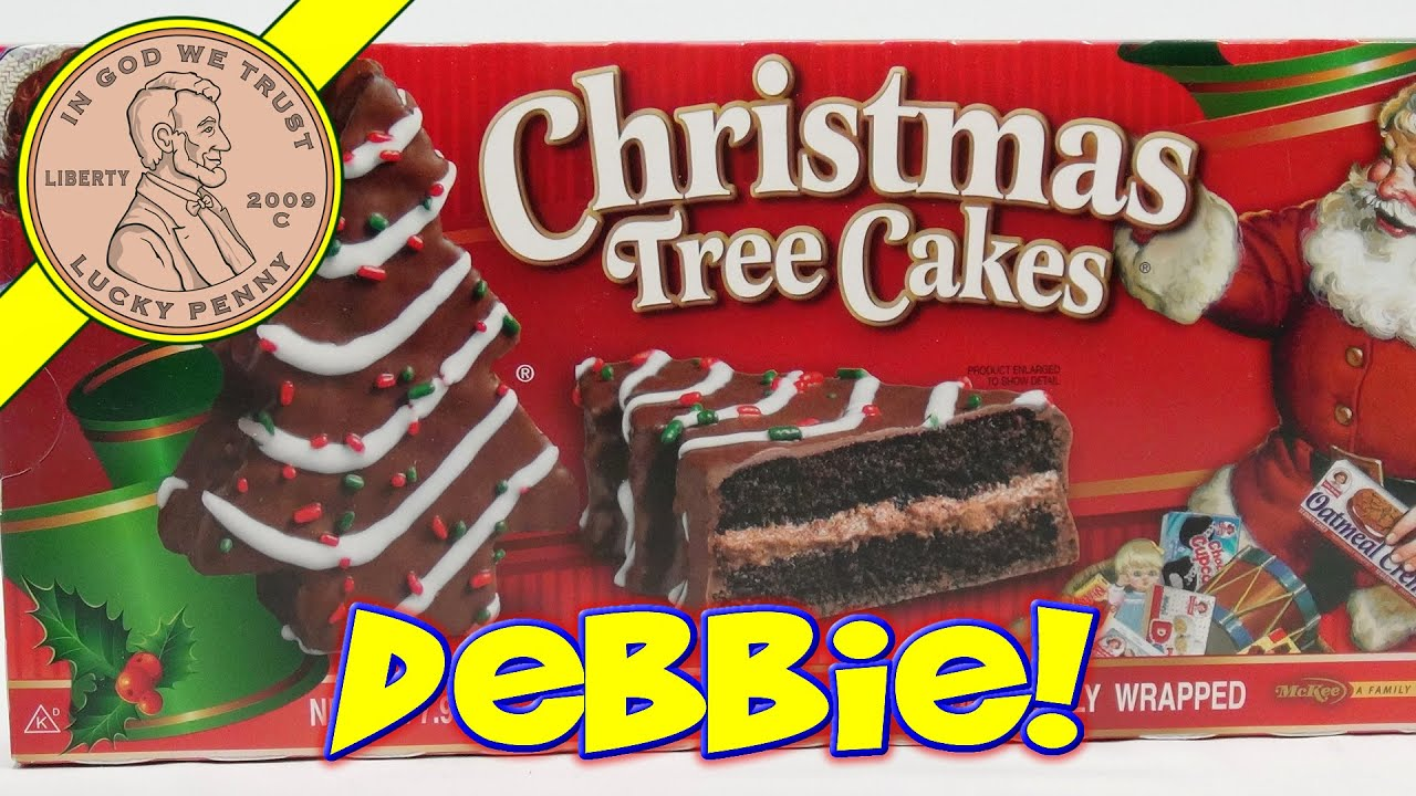 Little Debbie Christmas Tree Snack Cakes Oh Christmas Tree Youtube