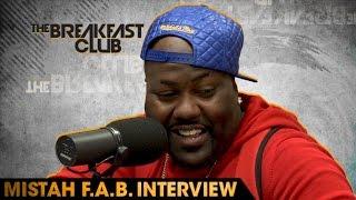 Mistah F.A.B. Interview at The Breakfast Club Power 105.1 (06/01/2016)